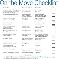 Move Checklist Template Simple Moving Checklist Template Excel