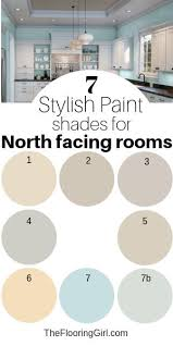 7 Stylish Paint Colors For North Facing Rooms Diy Painting