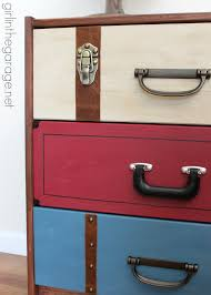 Suitcase With Drawers Suitcase Dresser Ikea Rast Hack Girl In The Garagear