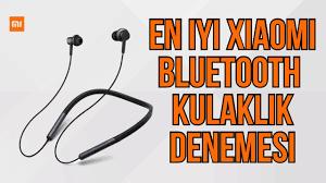 Mİ Neckband Earphone Bluetooth Kulaklık İncelemesi   Xiaomi Bluetooth  kulaklık İncelemesi - YouTube