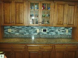 Kitchen Backsplash Glass Tile Glass Mosaic Tile Kitchen Backsplash Ideas Miserv