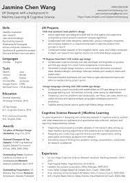View Jasmine's Resume as pdf