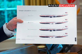 Trump Air Force One Design Trump Just Unveiled His Plan For Air Force Ones New Paint