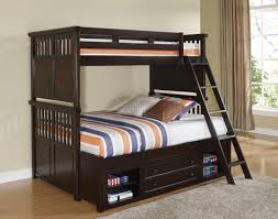 Canyon Ridge African Chestnut Twin Over Twin Storage Bunk Bed from ...