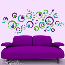 Small Picture Retro Decor Vinyl Wall Decals 72 Polka Dots and Circles Wall