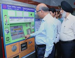 Metro Ticket Vending Machines Delectable Latest Tenders Jobs Project Of India Metro Rail Latest News
