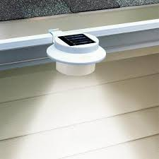 8pc 3 led solar energy saving light for