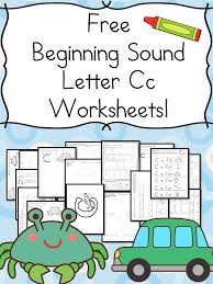 Beginning Sounds Letter C Worksheets - Free and Fun ...