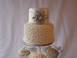 9 Two Layer Wedding Cake With Cupcakes Photo 2 Tier Wedding Cakes