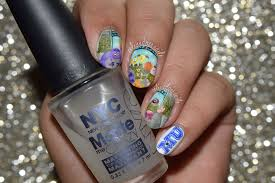 Nails By Celine: Monsters University Nail Art