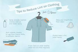 sort laundry to prevent excessive lint
