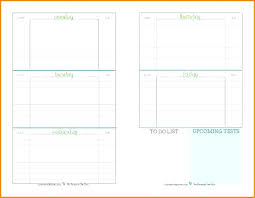 Homework Agenda Printable Planner Free Pages – Midcitywest.info