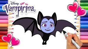 1000 plus free coloring pages for kids to enjoy the fun of coloring including disney movie coloring pictures and kids favorite cartoon characters. Vampirina Going Batty Coloring Page Vampirina Coloring Book Disney Jr Printable Coloring Page Youtube