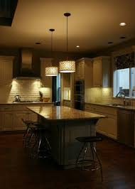 fabulous pendant lighting for kitchen with drum shade