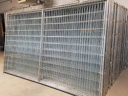 Welded wire dog fence Braided Wire D0012mini Dog Runs Dog Kennels Wedlded Wire Dog Fences By Quick Fence Inc