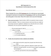 Fundraising Plan Template 11 Free Fundraising Plan Templates Word Pdf Apple Pages