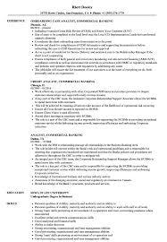 Banking Resume Examples Gorgeous Analyst Commercial Banking Resume Samples Velvet Jobs