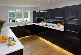 High Gloss Kitchen Doors High Gloss Kitchens Lacquered Handleless Acrylic