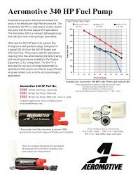 Bosch Fuel Pump Chart Aeromotive 340 Vs Bosch 044 Performancetrucks Net Forums