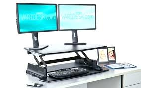 standing desk accessories w standing desk converter height adjule stand up with regard to popular household