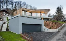 view in gallery 3 y home steep slope grass roofed garage