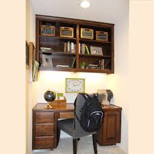 Built In Office Desk And Cabinets Office 004 Burrows Cabinets Central Texas Builder Direct