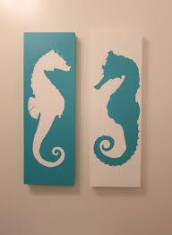 seahorses decor on seahorse wall art for bathroom with seahorses decor kemist orbitalshow