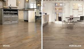 wood flooring vs wood plank porcelain flooring