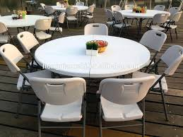 heavy duty folding banquet table round 60 inch foldable furniture 60 round folding table inch in lightweight abs