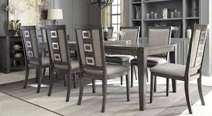 dining room set with china cabinet new chadoni gray rectangular extendable dining room set from ashley