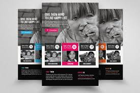 Donation Flyer Template Gorgeous Charity Donation Flyer Templates