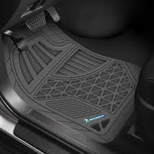rubber floor mats. Heavy Duty 1st \u0026 2nd Row Gray Rubber Floor Mat Set Mats