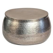 silver drum coffee table silver hammered coffee table silver hammered drum coffee table