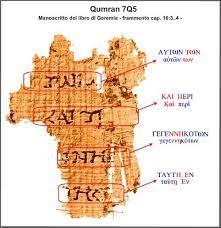 Ora qumran ha bisogno di te. Il Frammento 7q5 Ritrovato Nella Grotta 7 Di Qumran E Ilvangelo Di Marco Centro Studio Biblico Nuovo Testamento
