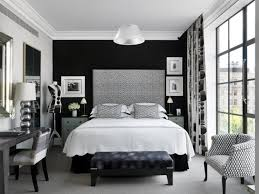 Black and white bedroom design. Good bedroom furniture placement creates ...