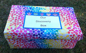 Decorating Boxes With Paper Nature Crafts Activities Make a Discovery Box Be A Fun Mum 54