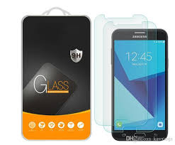 tempered glass for samsung galaxy j6 prime sam j7 prime prime 0 3mm 2 5d mobile phone screen protector touch screen protector anti glare
