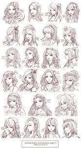 Hair Style Anime draw realistic hair anime drawings and manga 8507 by wearticles.com