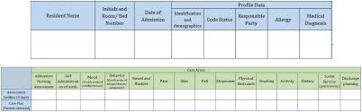 New Admission Charting Scherf Health Ehr Emr Review Audit Compliance