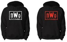 Nwo Chart Details About Nwo Hoodie Wwe Wcw Ecw Tna Wrestling New World Order