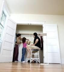 open closet door step 1 open locked closet door without key