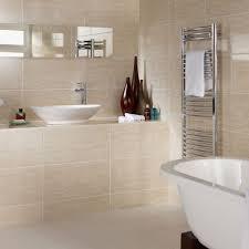 beige travertine effect wall tiles dorchester 600x300x9mm beige bathroom tiles r70