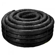 ads 6 inch x 100 foot roll flexdrain corrugated pipe with poly filter sock