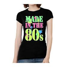 Womens Made In The 80s T Shirt