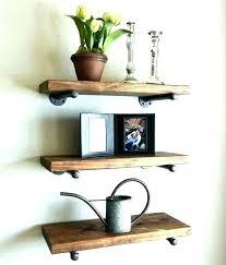 12 inch floating shelf deep floating shelf set of 3 8 pipe shelves industrial inch white