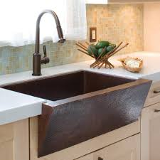 Pinnacle Modern Copper Farmhouse Kitchen Sink Native Trails