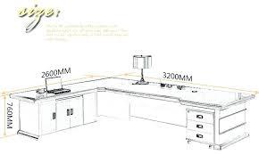full image for standard office desk height us foshan office furnture height adjule executive desk office