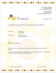How To Write A Graphic Design Proposal Graphic Designer Sample Proposal 5 Steps