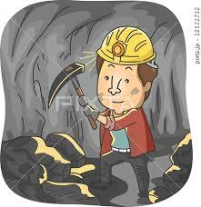 「炭鉱夫 イラスト」の画像検索結果