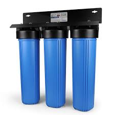 Whole House Filtration Systems Ispring 3 Stage Whole House Water Filtration System W 20x45 In